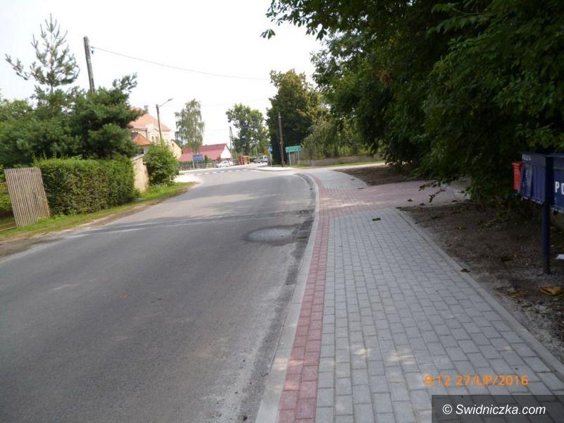 Gmina Świdnica: Prace na drogach powiatowych