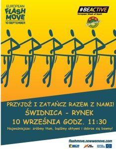 Świdnica: FlashMOVE – przyjdź na rynek i zatańcz razem z nami!