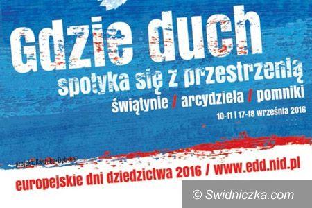 Świdnica: Świdnica otwiera się na turystów podczas Europejskich Dni Dziedzictwa