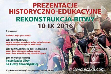 Świdnica: Prezentacje historyczno–edukacyjne oraz rekonstrukcja bitwy
