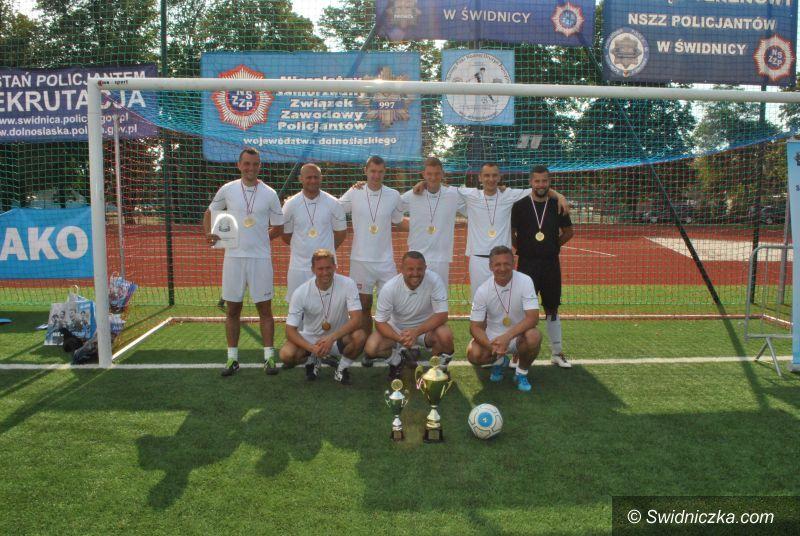 Strzegom: XVI Turniej Piłki Nożnej Drużyn Policyjnych województwa dolnośląskiego