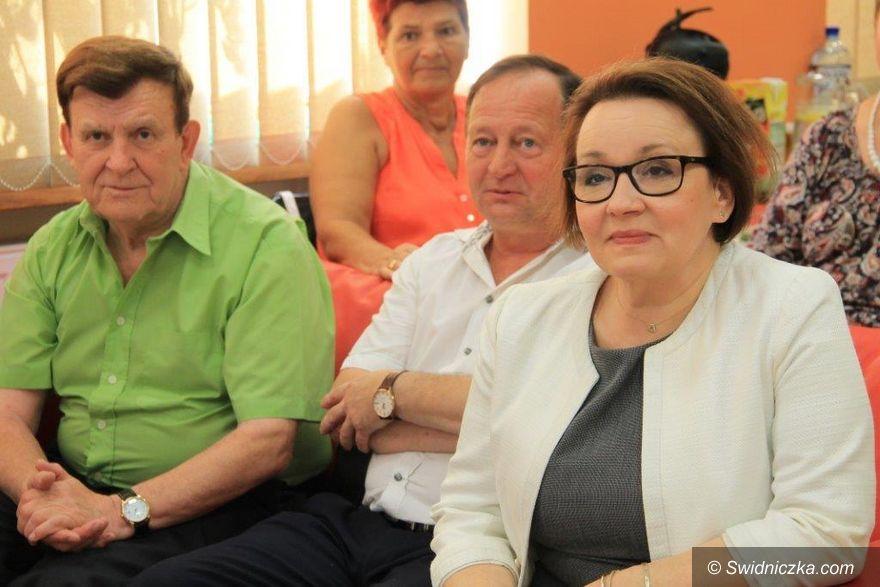 Świebodzice: Narodowe Czytanie Sienkiewicza z Minister Anną Zalewską