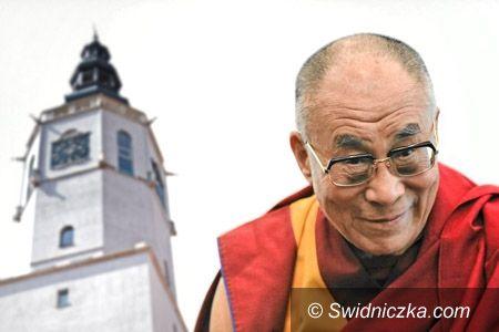 Świdnica: Jego Świątobliwość Dalajlama XIV z wizytą w Świdnicy