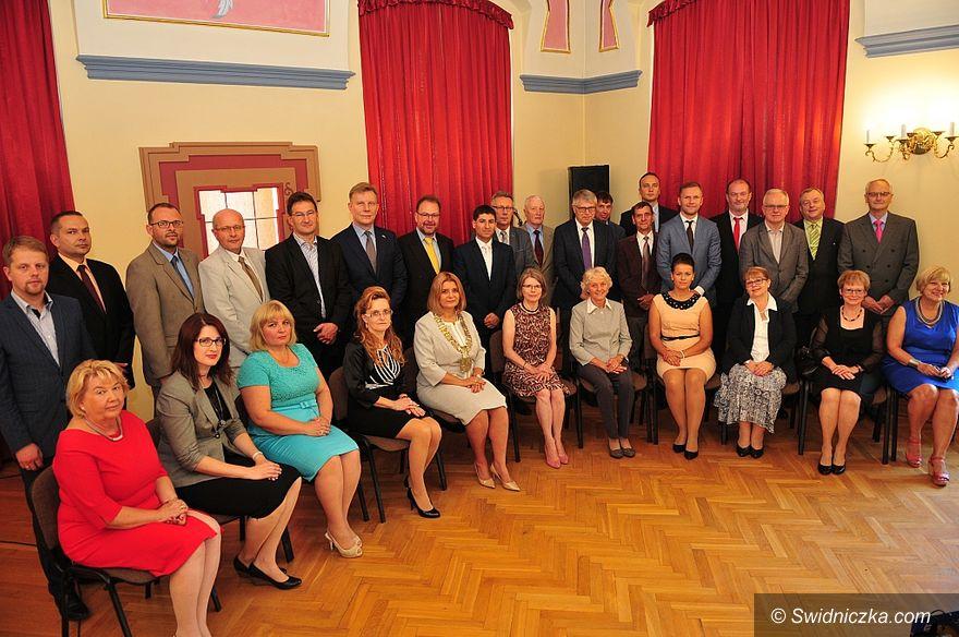 Świdnica: Uroczystość podpisania aktu jubileuszowego 25–lecia współpracy partnerskiej z Biberach