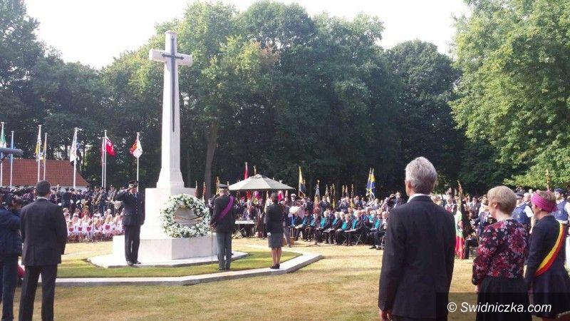 Gmina Świdnica: Uroczystości na cmentarzu wojskowym w Maldegem