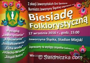 Jaworzyna Śląska: Biesiada Folklorystyczna w ramach Dni Seniora