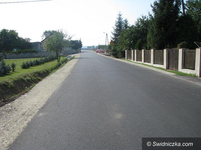 Marcinowice: Droga Kątki–Zebrzydów odebrana