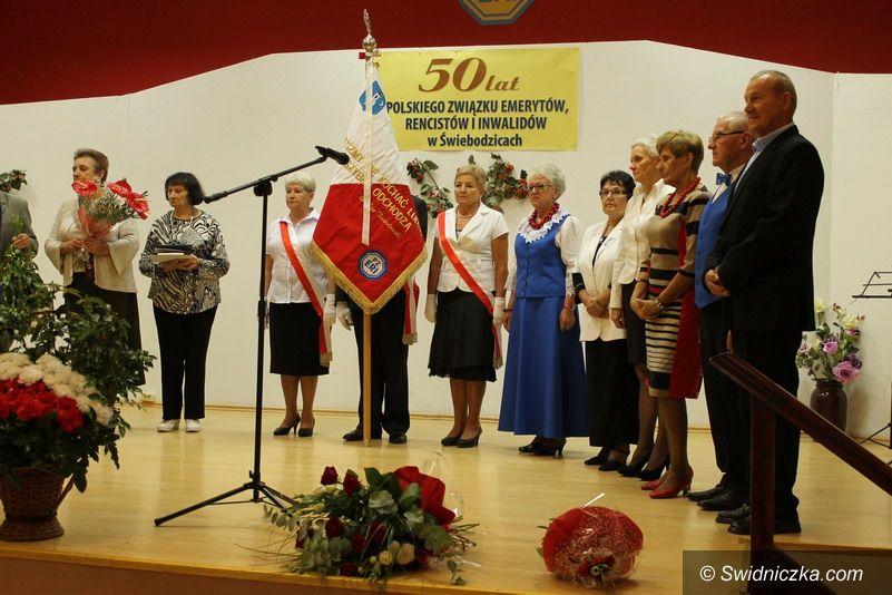 Świebodzice: 50–lecie Polskiego Związku Emerytów, Rencistów i Inwalidów w Świebodzicach