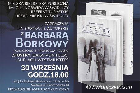 Świdnica: Spotkanie autorskie z Barbarą Borkowy