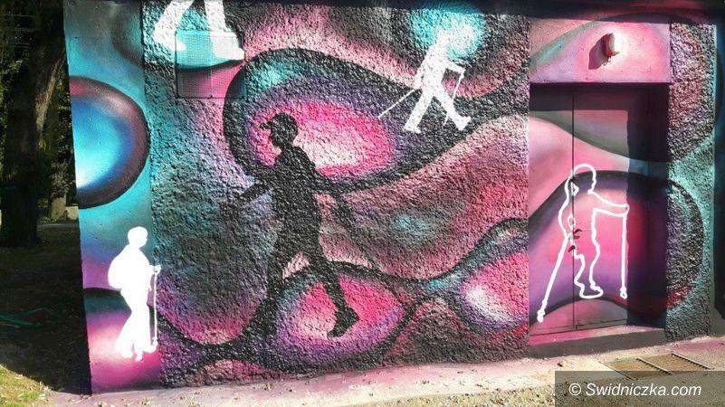 Strzegom: Kolejne graffiti w Strzegomiu