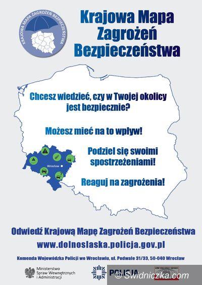 Świdnica: Ruszyła Krajowa Mapa Zagrożeń Bezpieczeństwa
