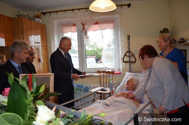 Marcinowice: 100–latka z Marcinowic