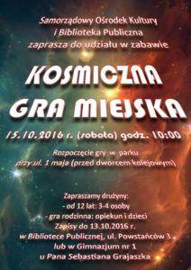 Jaworzyna Śląska: Kosmiczna gra