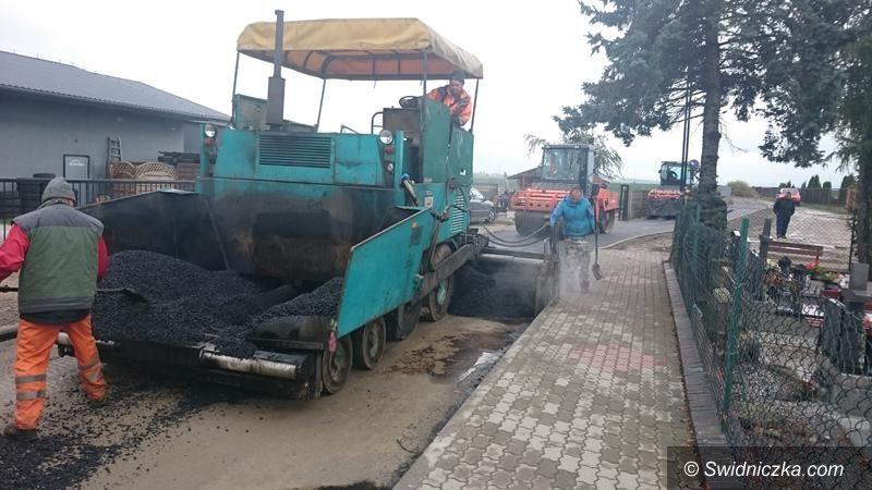 Żarów: Ulica Spokojna w trakcie remontu