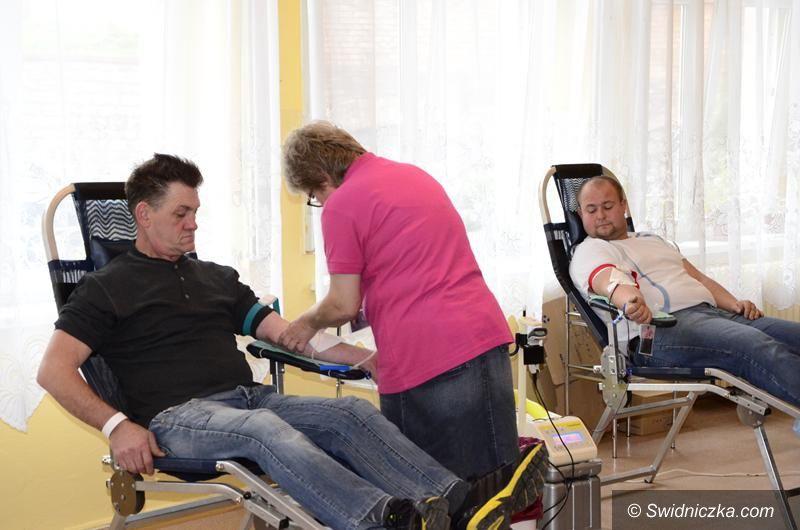 Żarów: Udana zbiórka krwi