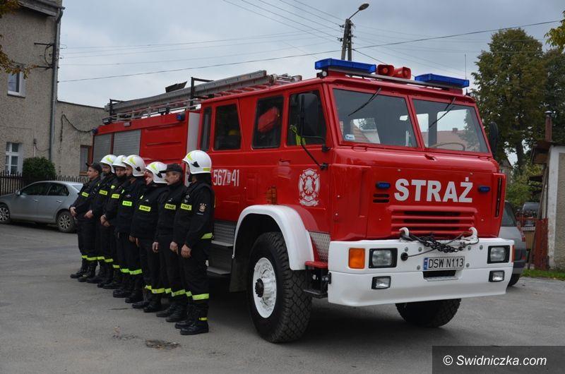 Olszany: Odnowiony wóz strażacki dla OSP Olszany
