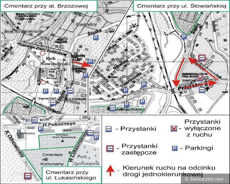 Świdnica: Wszystkich Świętych w Świdnicy – zmiany w organizacji ruchu