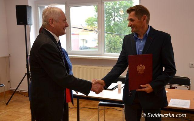 Marcinowice: Nowy radny zaprzysiężony