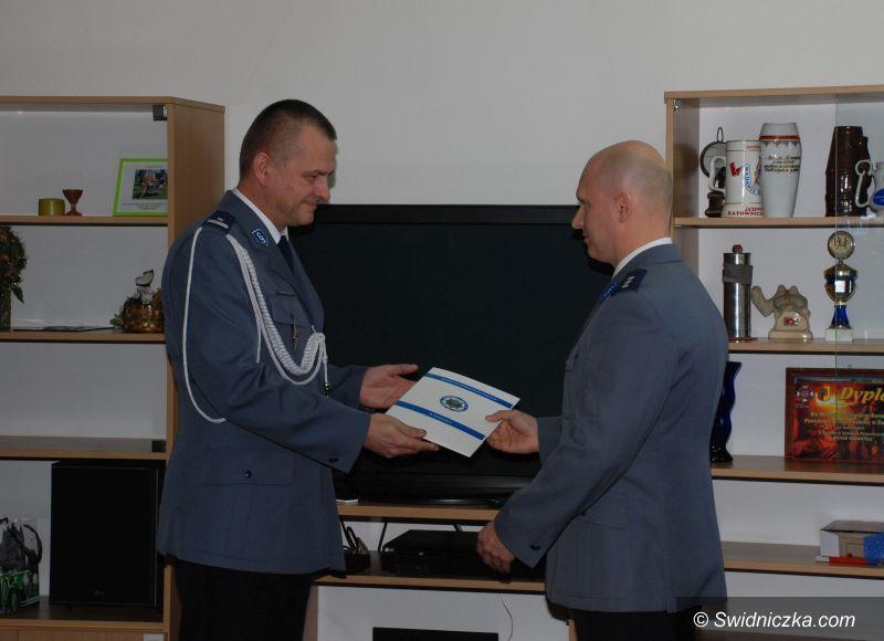Świebodzice: Wprowadzenie Komendanta Komisariatu Policji w Świebodzicach
