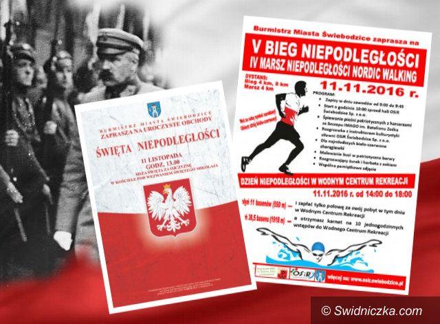 Świebodzice: Patriotycznie i sportowo na 11 listopada