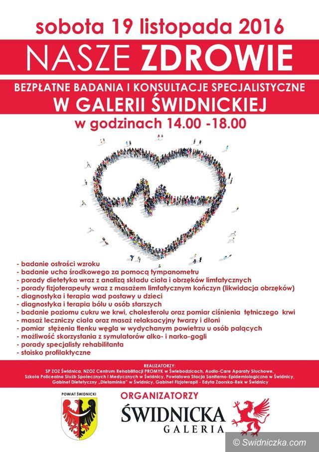 powiat świdnicki: Kolejne bezpłatne badania dla mieszkańców powiatu