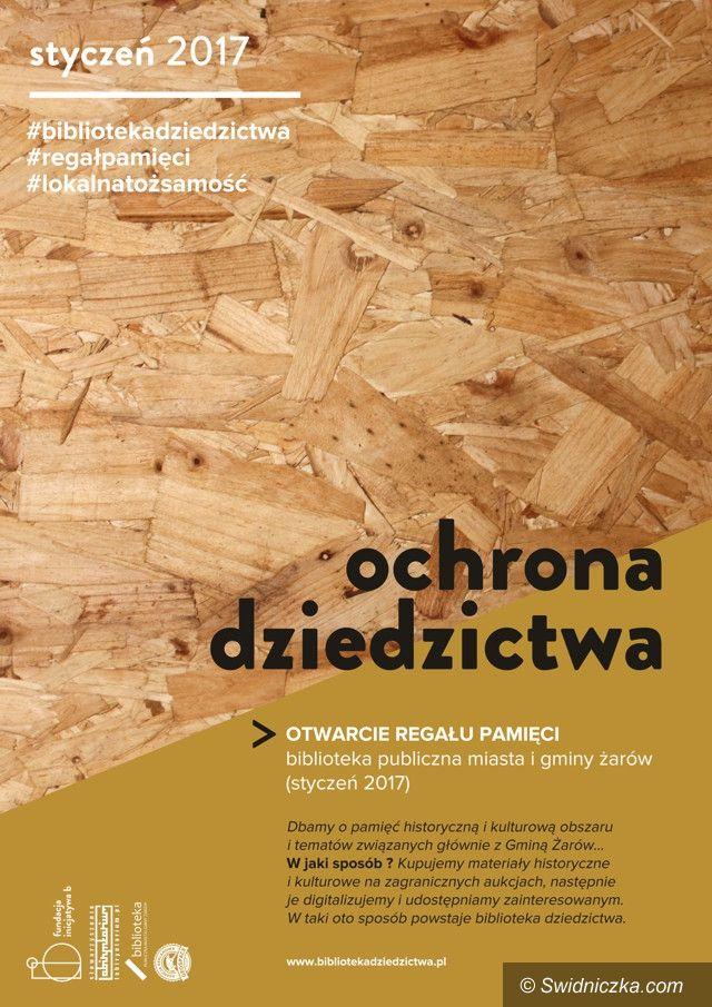 Żarów: W Żarowie powstanie Biblioteka Dziedzictwa