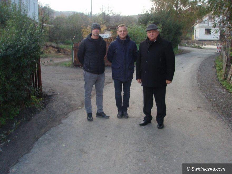 Szymanów: Nowa droga w sołectwie Szymanów