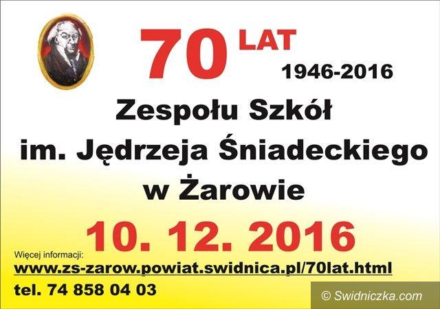 Żarów: Zbliża się 70–lecie Zespołu Szkół w Żarowie