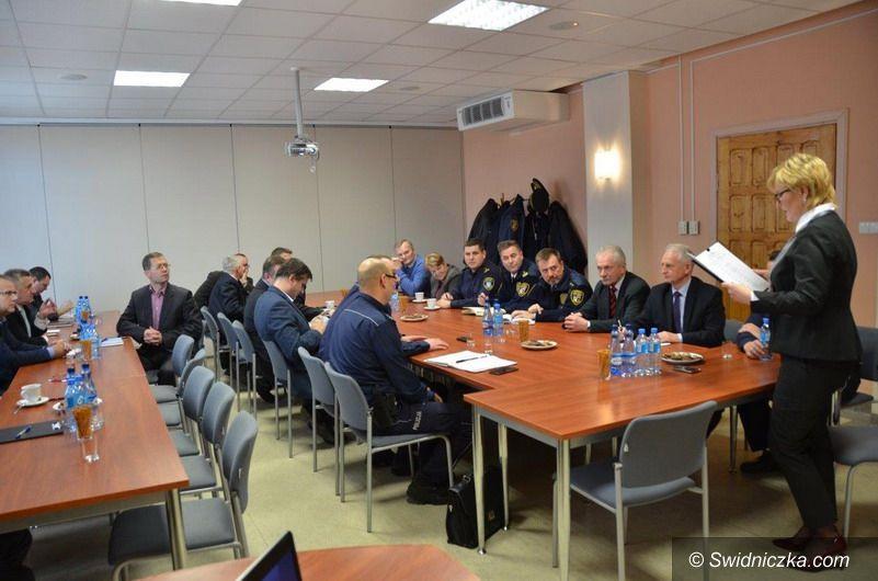 powiat świdnicki: Pierwsze posiedzenie Powiatowej Rady Bezpieczeństwa Ruchu Drogowego