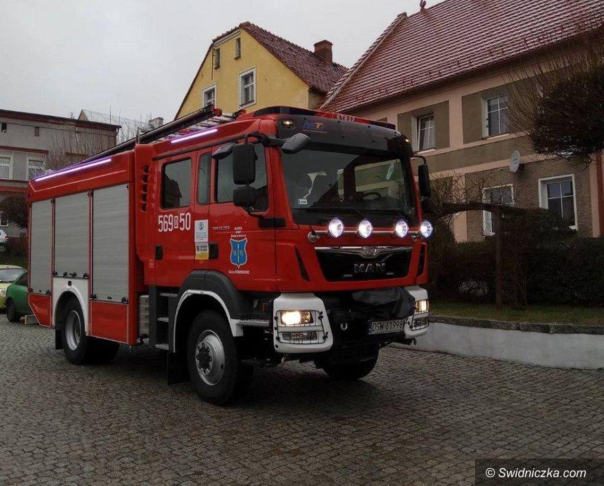 Dobromierz: Wóz strażacki dla Dobromierza