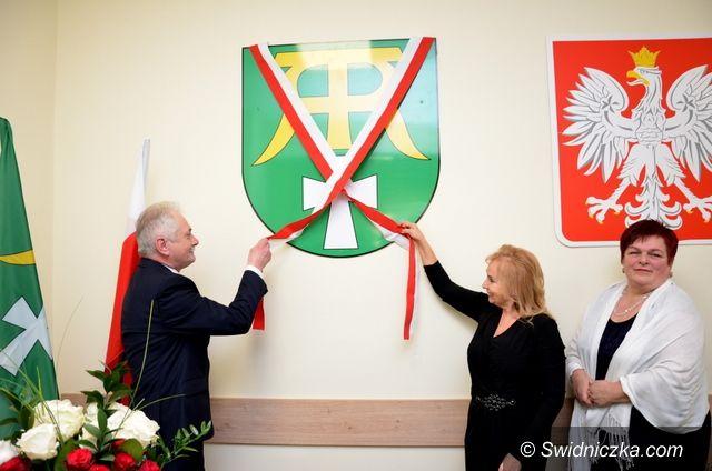 Marcinowice: Gmina Marcinowice ma swój herb