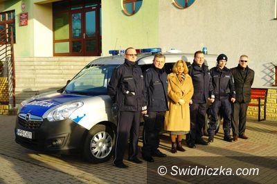 Świdnica: Nowy radiowóz dla świdnickiej komendy