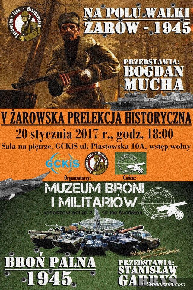 Żarów: V Żarowska Prelekcja Historyczna
