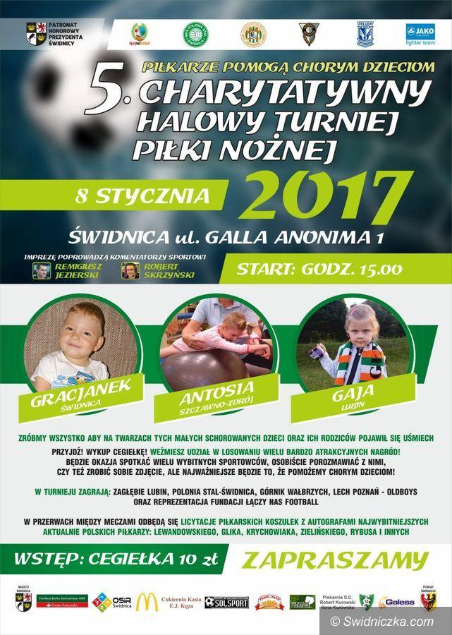 Świdnica: Przed nami charytatywny turniej piłkarski