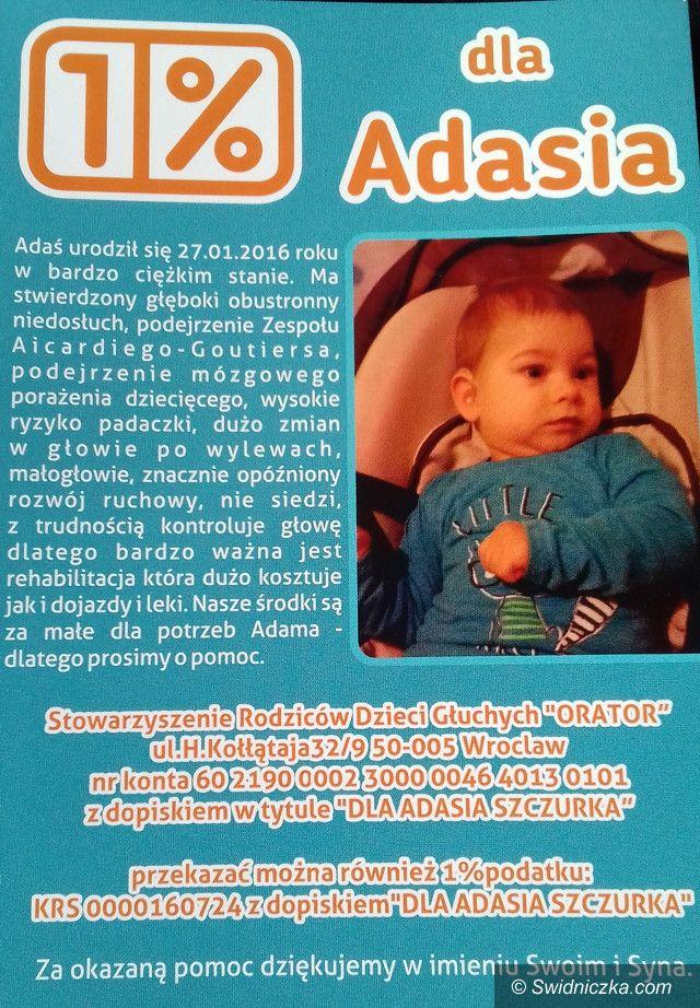 Żarów: Pomóżmy choremu Adasiowi