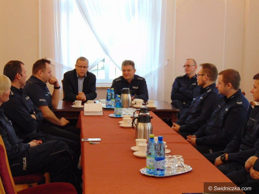 Dobromierz: Odprawa roczna Policji w gminie Dobromierz