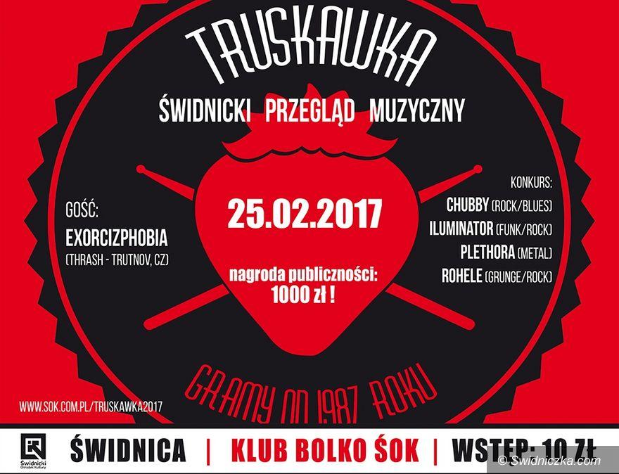 Świdnica: Truskawka: zdecyduj który zespół wygra świdnicki przegląd muzyczny