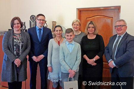 Świdnica: Maksymilian Śleszyński nagrodzony