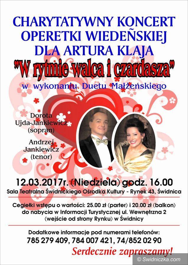 Świdnica: Zapraszamy na koncert charytatywny