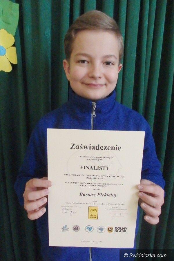 Witoszów Dolny: Zdolny Ślązaczek z Witoszowa Dolnego