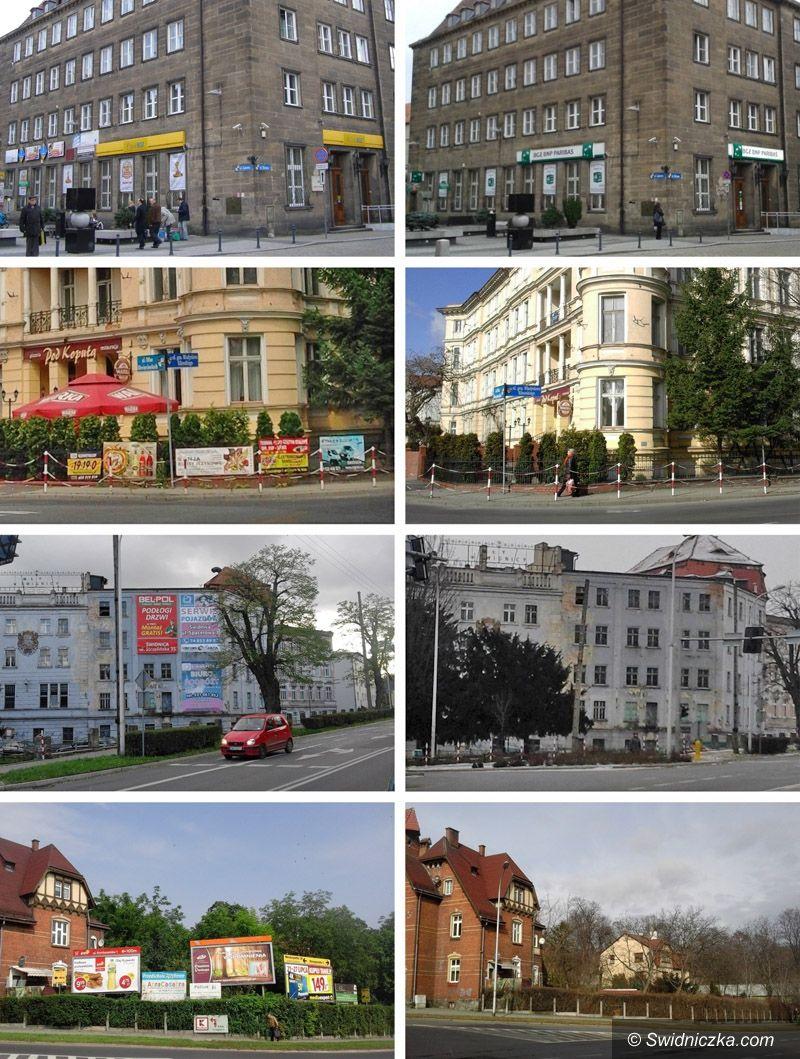 Świdnica: Z miasta znikają szpetne reklamy