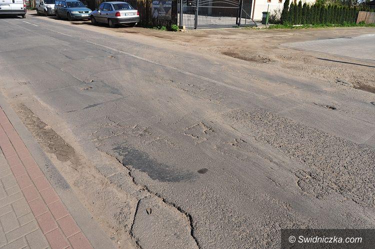 Świdnica: Rusza przebudowa ulicy Przyjaźni