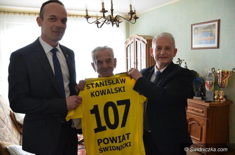 Świdnica: 107. urodziny Pana Stanisława