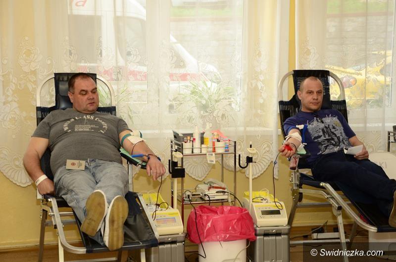 Żarów: Pierwsza wiosenna zbiórka krwi
