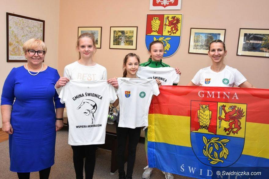 Gmina Świdnica: Nasze gimnastyczki jadą do Niemiec