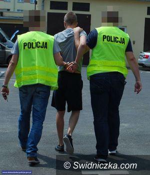 powiat świdnicki: Policjanci zatrzymali kolejnych poszukiwanych