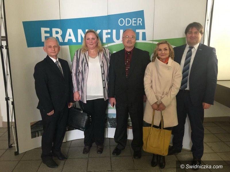 powiat świdnicki: Spotkanie we Frankfurcie nad Odrą