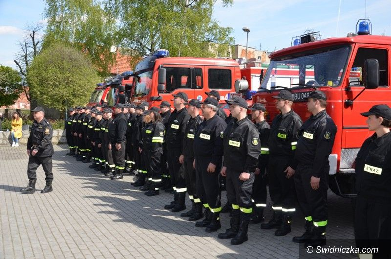 Strzegom: Doceniono strażaków