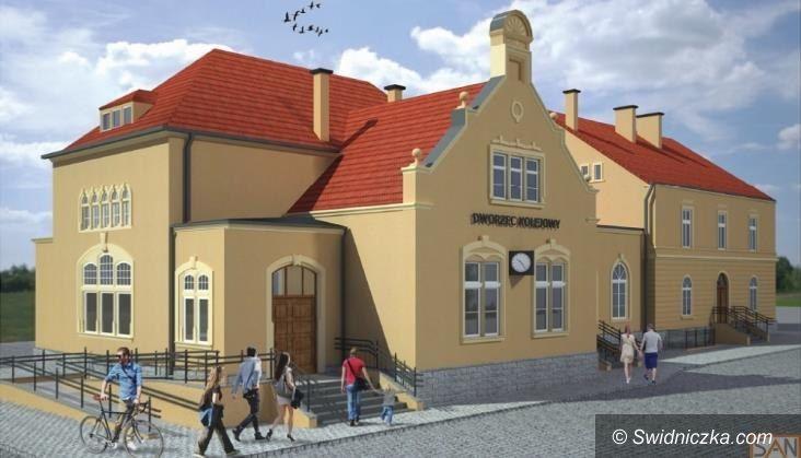 Żarów: Rusza remont dworca w Żarowie