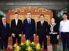 Świdnica: Delegacja ze Świdnicy z partnerską wizytą w Pengzhou